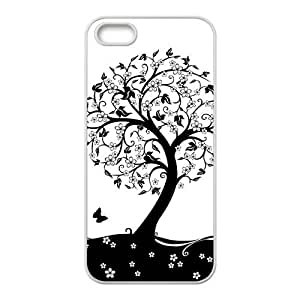 Love Tree Hight Quality Plastic Case for Iphone 5s