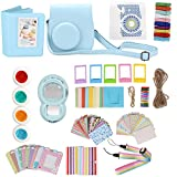 TTnight Instax Mini 8 Accessories, 11 in 1 Instant Film Camera Album Bundles Set for Fujifilm Instax Mini 8