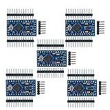 arduino mini - diymore 5Pcs Redesign Pro Mini ATmega328 3.3V 8M Replace ATmega128 Board Compatible with Nano Arduino