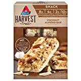 Atkins Harvest Trail Snack Bar, Coconut Almond, 5 Count (Pack of 6)