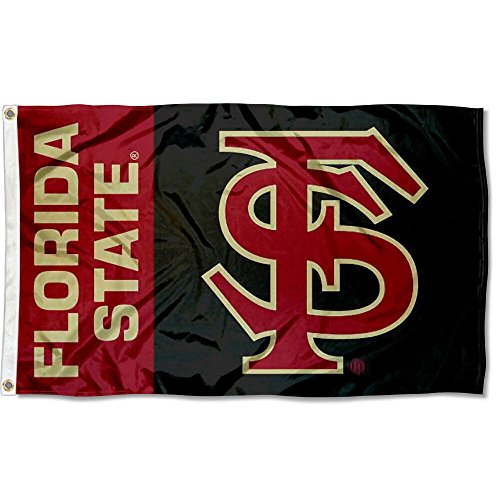 (College Flags and Banners Co. FSU Seminoles Flag Large 3x5)