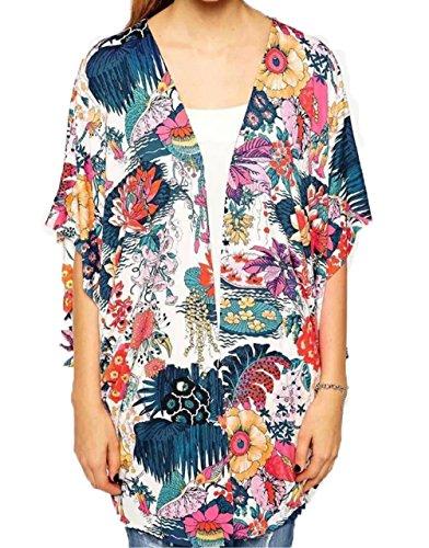 Sleeves Chiffon Cardigan X Large colorful product image