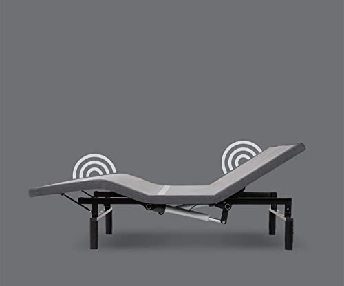Leggett Platt Adjustables Simplicity 3.0 Adjustable Bed Base, Split King, Wireless, Full Body Massage, Zero Gravity, Night Light