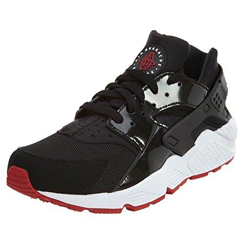 Negro Rojo Nike Zapatillas hombre de Air Gimnasio para Huarache deporte blanco axn70wzq
