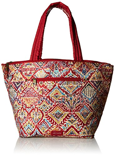 Sakroots Kota Reversible City Tote, Sweet Red Brave Beauty