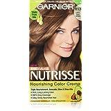Garnier Nutrisse Nourishing Hair Color Creme, 613 Light Nude Brown
