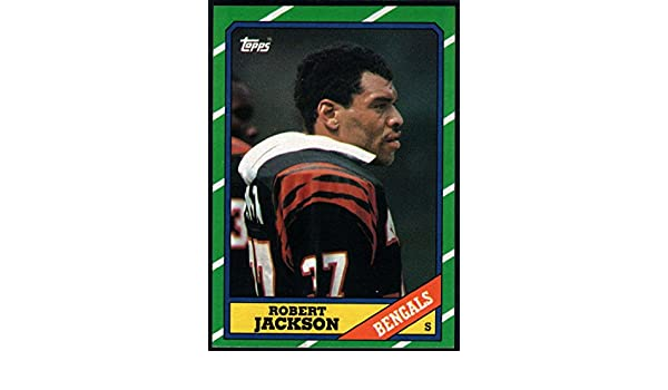 san francisco 2ac1e 4fd45 Amazon.com: Football NFL 1986 Topps #266 Robert Jackson NM ...