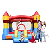 Best Bounce Houses - Costzon Inflatable Bounce House, Castle Jumper Slide Mesh Review