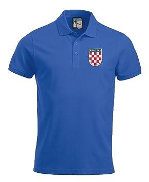 Retro Croacia Camiseta De Fútbol Nuevo tallas S-XXXL Logotipo Bordado, rojo