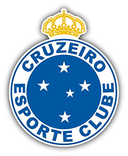 fan products of Cruzeiro Esporte Clube Brazil Soccer Football Art Decor Vinyl Sticker 4'' X 5''