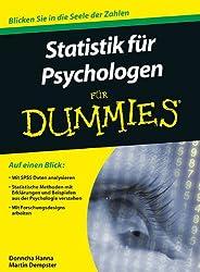 Statistik für Psychologen für Dummies (Fur Dummies)