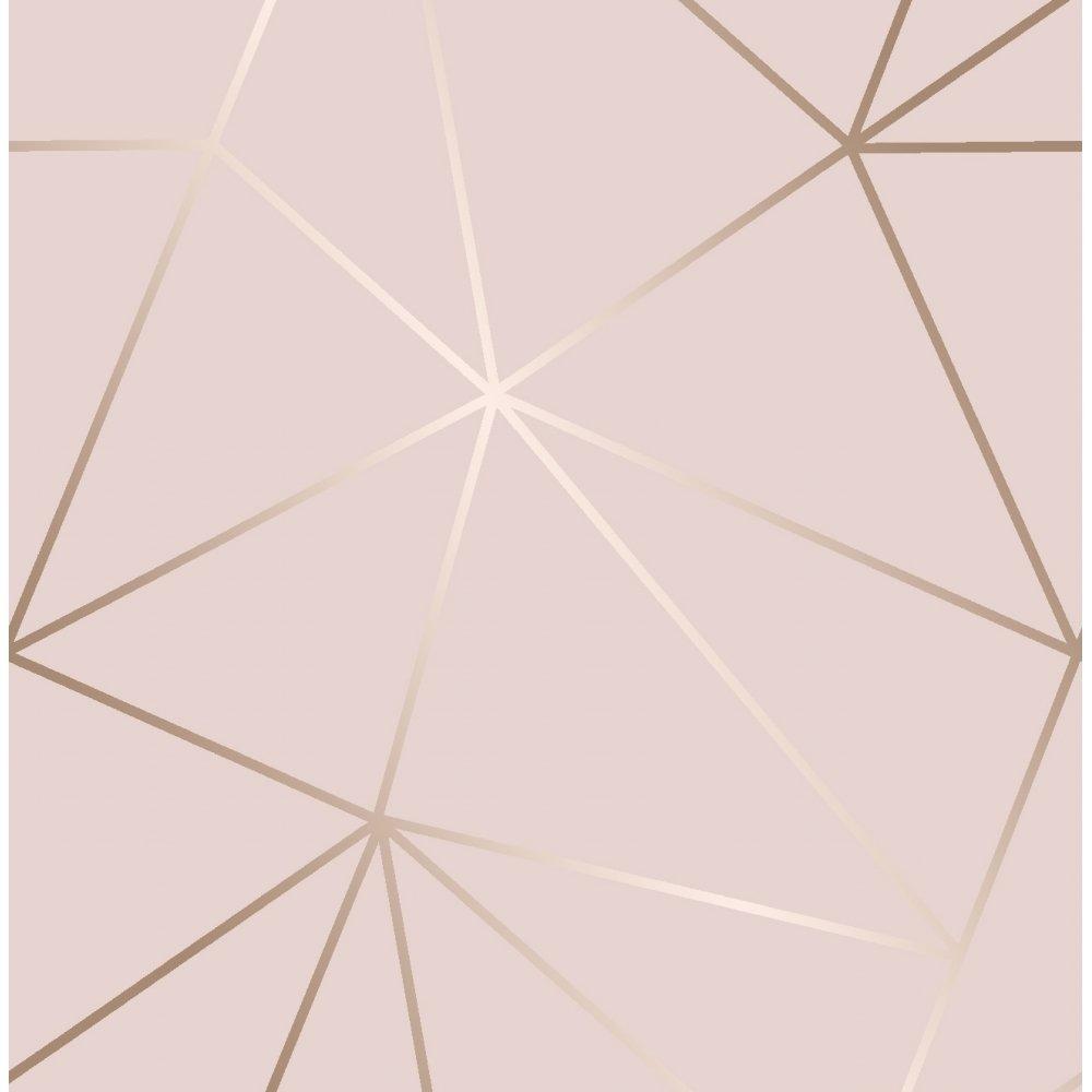 I Love Wallpaper Zara Shimmer Metallic Wallpaper Soft Pink Rose