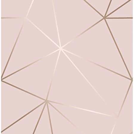 I Love Wallpaper Zara Shimmer Metallic Soft Pink Rose Gold ILW980111
