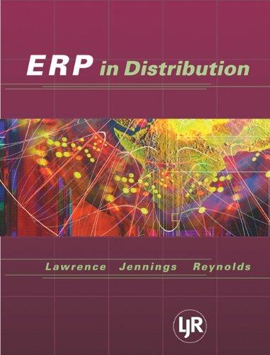 Enterprise Resource Planning in Distribution: 1st (First) Edition pdf epub