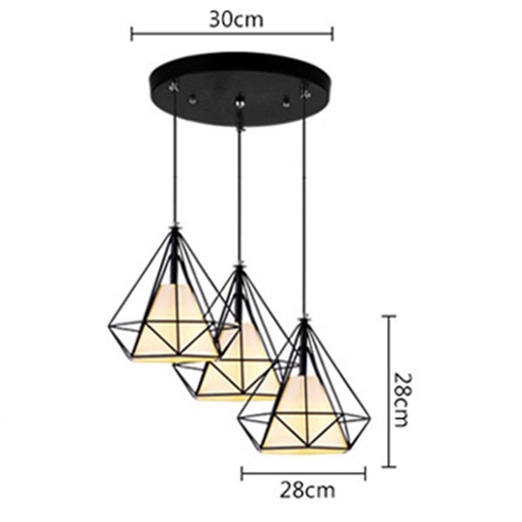 Kronleuchter Kronleuchter, Persönlichkeit der industriellen Wind bar Schlafzimmer moderne, einfache zum Licht (Farbe  C) starten