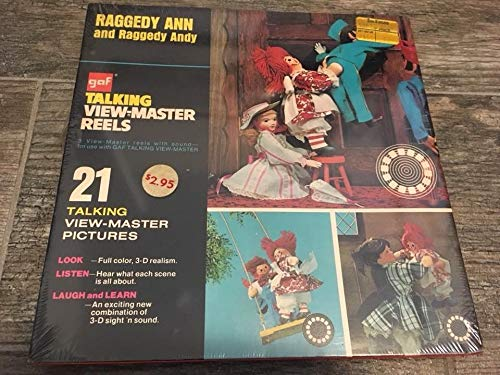 View Master Raggedy ANN and Raggedy Andy Vintage GAF Talking