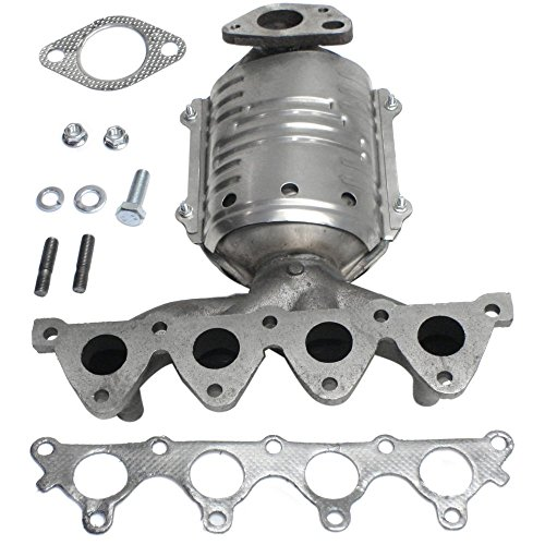 - Catalytic Converter for 06-10 Accent/06-11 Rio Exhaust Manifold Left
