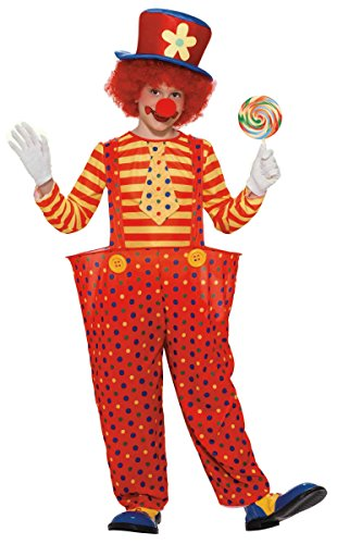 [Hoopy the Clown Costume - Medium] (Hoopy The Clown Boys Costumes)