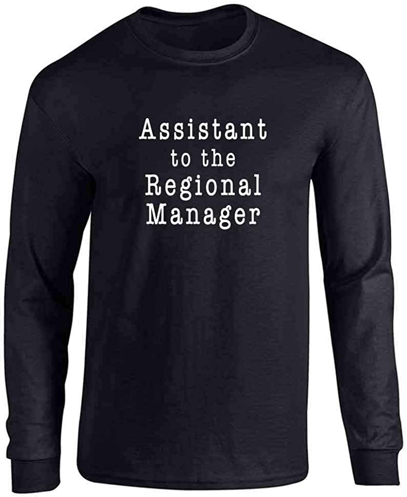 Pop Threads Workplace Office Humor Funny Merchandise TV Show Full Long Sleeve Tee T-Shirt
