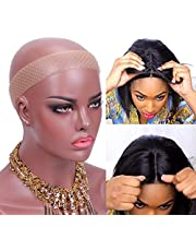 Wig Grip Band Non Slip Transparent Silicone Wig Fix Silicone Wig Grip Natural Grip Headbands for Women Comfort Elastic Wig Grip Cap for Lace Wigs to Hold Wigs Frontal Yoga and Sports (Light Brown)