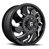 Fuel D574 Cleaver Dually 20x8.25 8x165.1 +105mm Black/Milled Wheel Rim