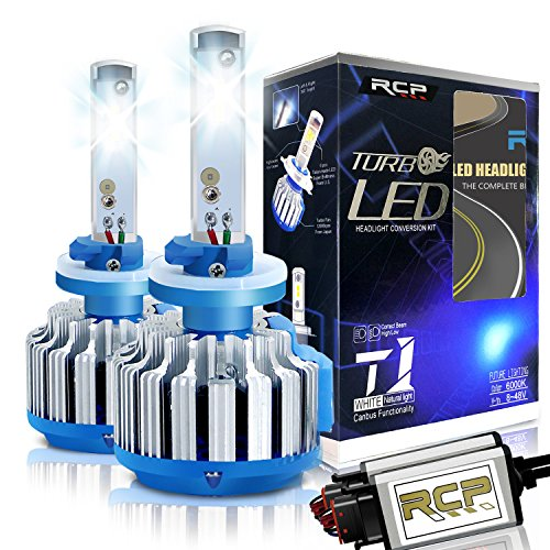 RCP - 880 - LED Headlight CREE Bulbs Conversion Kits + Canbus (1 Pair)- 70W  7200Lm White(6,000K) - 2 Year Warranty