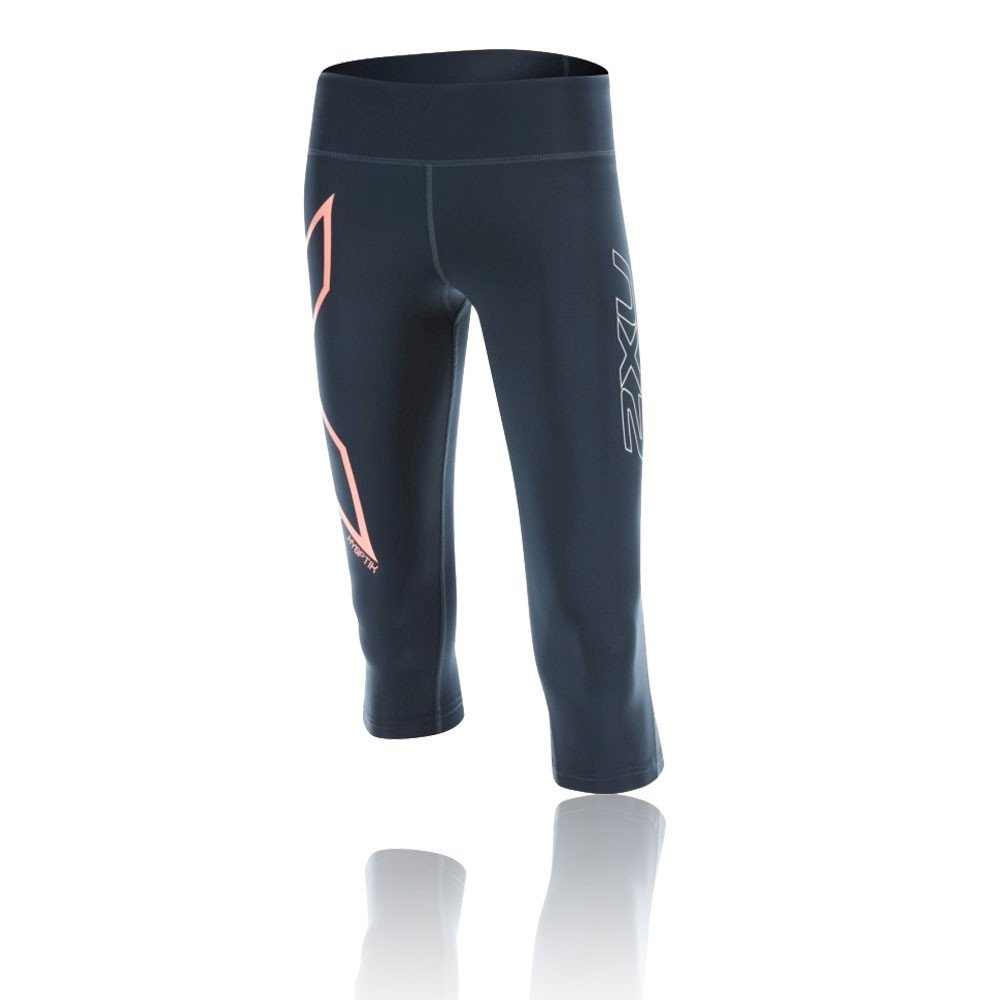 efae5dff51 2XU Hyoptik Mid-Rise 3/4 Women's Compression Tights - X Small:  Amazon.co.uk: Clothing