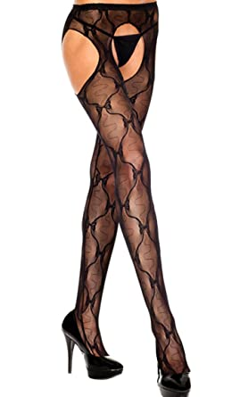 Suspender pantyhose lace congratulate