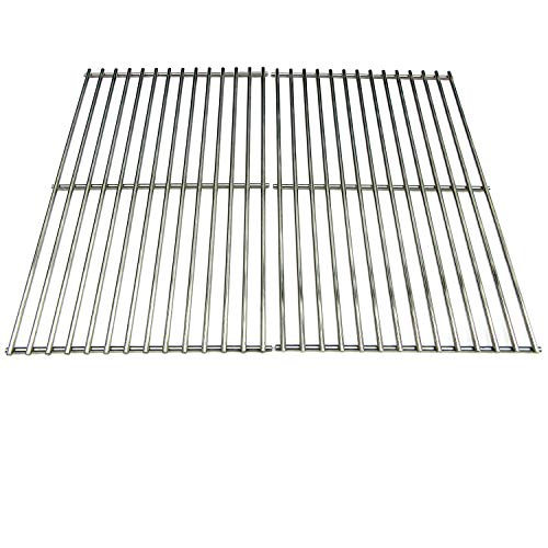 - Direct Store Parts DS113 Solid Stainless Steel Cooking grids Replacement Brinkmann; Charmglow; Turbo Gas Grill