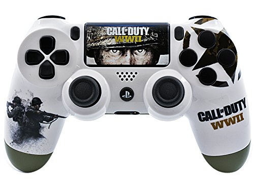 WWII PS4 PRO Custom UN-MODDED Controller Exclusive Unique Design CUH