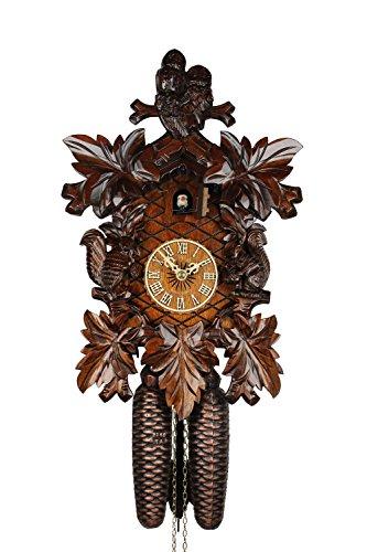 Adolf Herr Cuckoo Clock - Forest Animals by ISDD Cuckoo Clocks