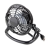 Portable USB Mini Cooler Cooling Fan Desk Mute fun for Notebook Laptop Computer With key switch