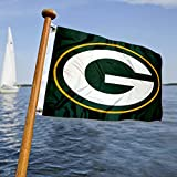 Cheap WinCraft Green Bay Packers Boat and Golf Cart Flag