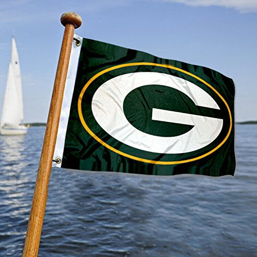 WinCraft Green Bay Packers Boat and Golf Cart Flag
