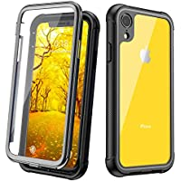 JUSTCOOL Designed for iPhone XR Case, Clear Full Body...