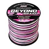 Beyond Braid Pink Camo 300 Yards 60LB