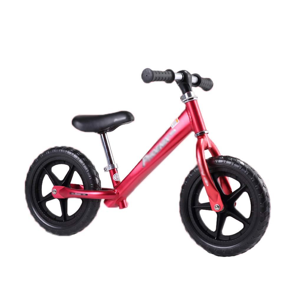 Laufrad Kids Balance Bike Walking Fahrrad, mit verstellbarem Sitz und Schaumreifen, für Kinder von 2 bis 6 Jahren
