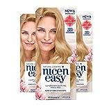 Clairol Nice'N Easy Crème 9 Light Blonde (3 Kits) (Packaging May Vary)
