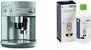 De'Longhi ESAM3300 Super Automatic Espresso/Coffee Machine and De'Longhi EcoDecalk Descaler, Eco-Friendly Universal Descaling Solution for Coffee & Espresso Machines, 16.90 oz (5 uses)