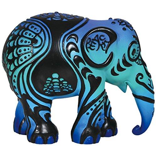 Westland Giftware Elephant Parade Resin Figurine in Tin Window Box, 4-Inch, Epiphany