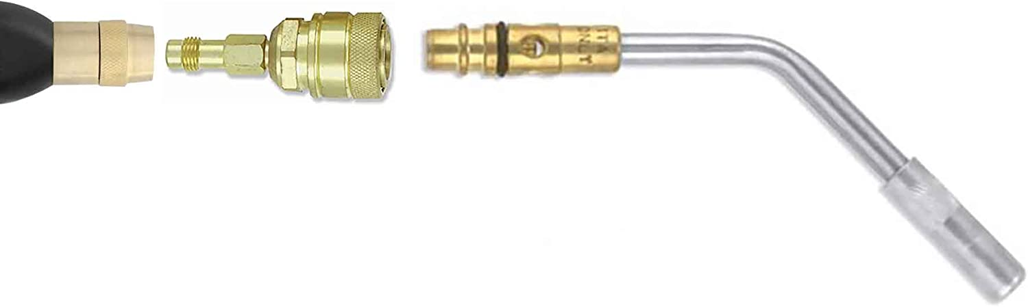 77SA6Q GENTEC Screw-Connect Torch TO Quick-Connect TIP Adapter