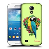 Head Case Designs Parrot Flora And Fauna Hard Back Case for Samsung Galaxy S4 mini I9190