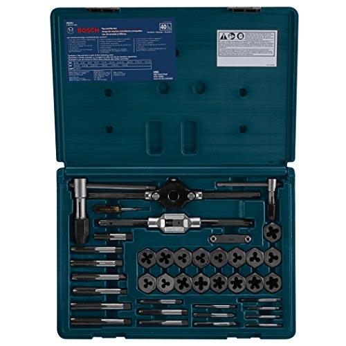 Bosch 396501 40-Piece HSS Tap and Die Set (Hss Tap Set)