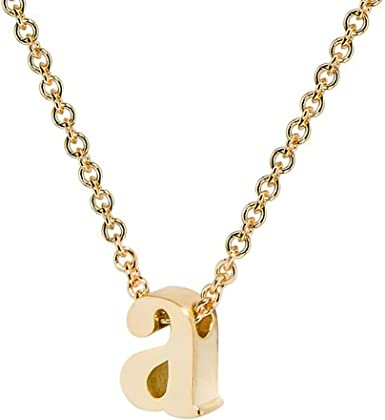 Children/'s Rose Gold Tone Personalised Initial Necklace with Star Charm Gift Box