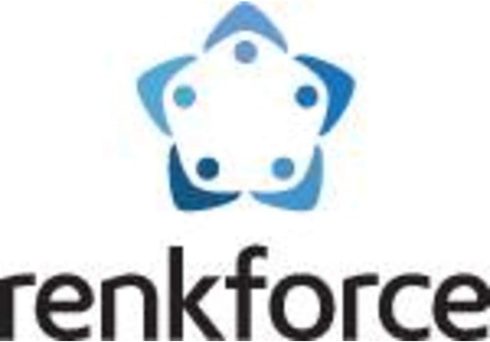Renkforce 778995 Prise interm/édiaire commutable 1 p/ôle blanc