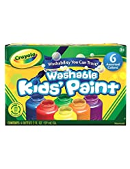 Crayola Washable Kid\'s Paint (6 count)