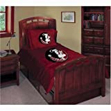 NCAA Florida State Seminoles Twin/Full Comforter with Two Pillow Shams