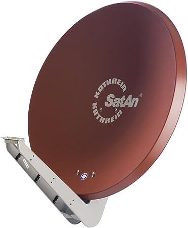 Kathrein CAS 90ro - Antena (10.70-12.75 GHz, 39.6 dBi, 90 cm, 96.7 cm, 1.03m, Marrón, Rojo)