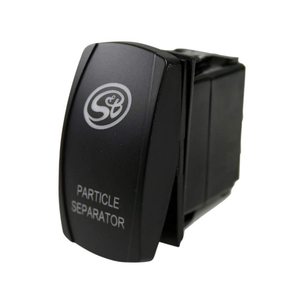 S/&B Filters Led Rocker Switch With S/&B Logo For Particle Separator