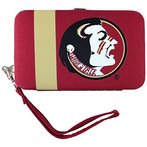 Florida State Card Credit (Littlearth NCAA Florida State Seminoles Shell Wristlet)